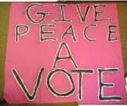 Give Peace a Vote
