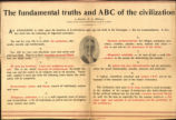 Fundamental Truths and ABC of the Civilization, The