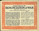 General Pact for the Renunciation of War