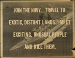 Join the Navy. Travel to exotic, distant lands.  Meet exciting, unusual people and kill them.