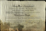 Allen Seymour Olmstead's Degree from Harvard (Universitas Harvardiana)