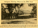 Abington Friends Meeting House