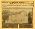 Saylesville Meeting House