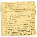 Letter from Quakers to Cornplanter