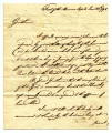 Letter to John Parrish and others from General McKee