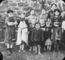 Ragged children in the Vogtland.