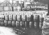 Barrels of lard substitutes - Hamburg.