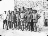German prisoners and French guards.