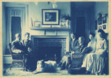 The Myers Family in their house at Moylan, Pa.'
