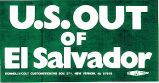 U.S. Out of El Salvador