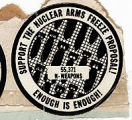 Support the Nuclear Arms Freeze Proposal! Enough is Enough! 55,371 N. Weapons