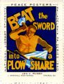 Beat the sword into a plow share