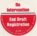 No Intervention; End Draft Registration; CARD Midwest Office, 731 State Street, Madison, Wisconsin