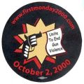 www.firstmonday2000.com; October 2, 2000; United to End Gun Violence