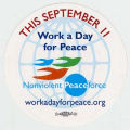 This September 11. Work a Day for Peace. Nonviolent Peaceforce. workadayforpeace.org