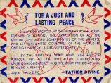 For a Just and Lasting Peace