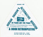 Miriam Sharon's Alternative Museum.  A Book-Retrospective.  20 Years Art for Peace.