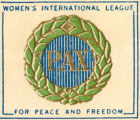 Women's International League for Peace and Freedom.  Pax.
