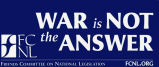 War Is Not the Answer.