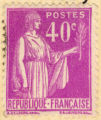 Republique Francaise; Postes 40