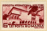 Expozitia Internationala New-York 1939; 6; Lei Posta Romania; Fabrica de Timbre