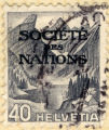 Soceite des Nations. 40. Helvetia.