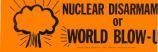 Nuclear Disarmament or World Blow-Up