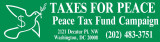 Taxes for Peace. Peace Tax Fund Campaign.