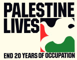 Palestine Lives. End 20 Years of Occupation.