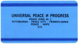 Universal Peace N Progress