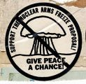 Support the Nuclear Arms Freeze Proposal! Give Peace a Chance!