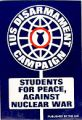 IUS Disarmament Campaign; Students for Peace, Against Nuclear War