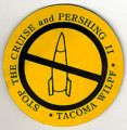 Stop the Cruise and Pershing II; Tacoma WILPF