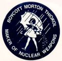Boycott Morton Thiokol, Maker of Nuclear Weapons