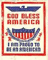 God Bless America; I Am Proud To Be An American