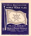 Universal Brotherhood and World Peace Flag...
