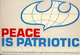 Peace is Patriotic; Blessed are the Peacemakers