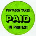 Pentagon Taxes Paid in Protest