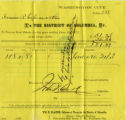 1872 June 20, Washington, D.C., [Real Estate Tax Assessment]