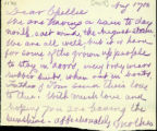 1905 August 17, to Dear Chellie
