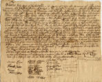 1748[?] December 23, Chester County, John Cope & Elizabeth Fisher, Marriage Certificate