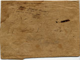 Wrapper for Marriage Certificate of William Drinker Cope & Susan L. Newbold, 1834?