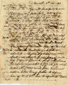 1814 November 6, Newcastle, to Uncle, Philadelphia