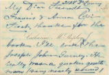 1900 April 22, 2128 Delancy, to Francis & Anna Cope
