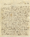 1839 January 10, West Haverford, to Anna S. Brown, Philadelphia