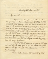 1843 March 4, Washington, to Thomas P. Cope, Philadelphia