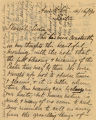 1911 April 16, Ann Arbor, to Dearest Sister