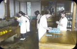 Jiyu Girls' School, Tokio. Practical Kitchen Work