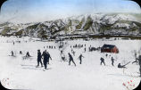 Students Skiing Contest, Central Japan