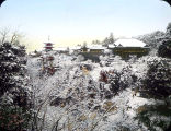 Kiyomidzu Temple at Kyoto, in Snow